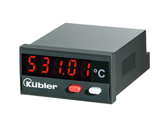 LED温度表示機